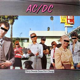 AC/DC, Dirty Deeds Done Dirt Cheap (1976) (LP)
