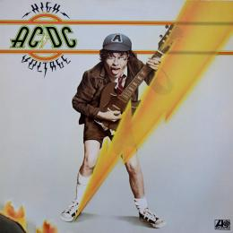 AC/DC, High Voltage (1976) (LP)