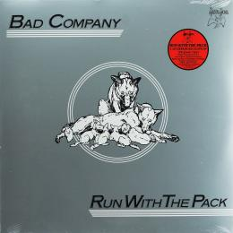 Bad Company, Run With The Pack (1976) (180 Gram Vinyl) (Remastered From Original Production Masters At Abbey Road Studios, Features Second LP Of Rare & Unreleased Recordings) (G/f) (2 LP)