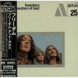 Freedom, Freedom At Last (1970) [Cardboard Sleeve(Mini LP) (Japan Ed.)