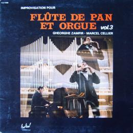 Gheorghe Zamfir At Cellier, Marcel, Improvisations Pour Flute De Pan Et Orgue Vol.3