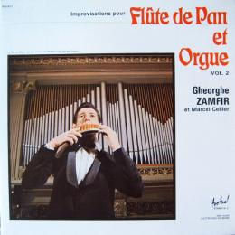 Gheorghe Zamfir At Cellier, Marcel, Improvisations Pour Flute De Pan Et Orgue Vol.2