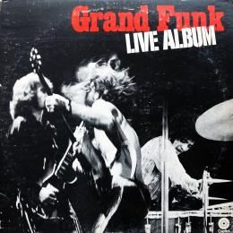 Grand Funk Railroad, Live Album (G/f) (USA) (2 LP)