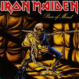 Iron Maiden, Piece Of Mind (1983) (G/f) (LP)