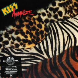 Kiss, Animalize (1984) (180 Gram Heavyweight Vinyl) (LP)