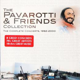Luciano Pavarotti, The Pavarotti & Friends Collection The Complete Concerts, 1992-2000 (4 DVD Box)