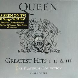 Queen, Greatest Hits I Ii & Iii The Platinum Collection (USA) (3 CD)