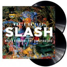 Slash Featuring Myles Kennedy & The Conspirators, Living The Dream (180G Heavyweight 2LP Vinyl) (G/f)(Ins.)