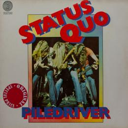 Status Quo, Piledriver (1St Press) (G/f) (LP)