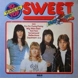 Sweet, 10 Years On Top (LP)
