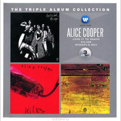Alice Cooper, The Triple Album Collection (3CD) (Love It To Death, Killer, School's Out)