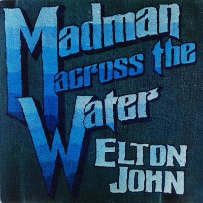 Elton John, Madman Across The Water (G/f+Book) (1St Press) (LP)