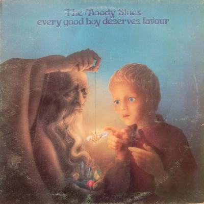 Moody Blues. The, Every Good Boy Deserves Favour (LP)